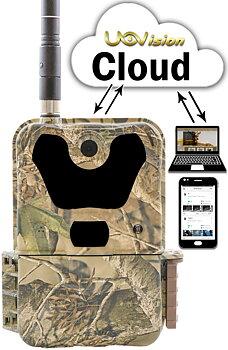 UOVision UM785-3,75G  Cloud - APP  Övervakningskamera DEMO