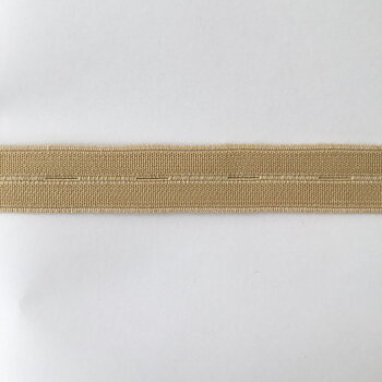 Buttonhole elastic Beige 20mm MT386