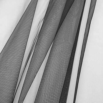Transparent net lining Black AL9334