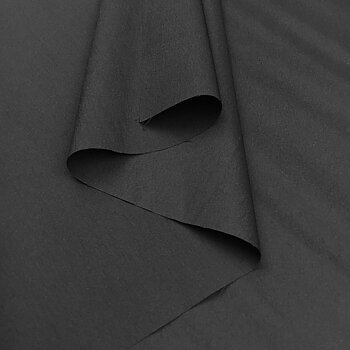 Windbreaker fabric stretch Black FO9191