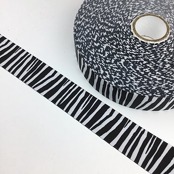 Elastic Zebra print 40mm MT2050