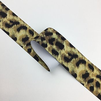 Elastic Leo print 40mm MT2050