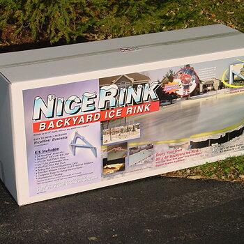 Rink In A Box (6 X 12) Bygg din egna isbana paketlösning
