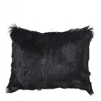 CUSHION GOAT BLACK