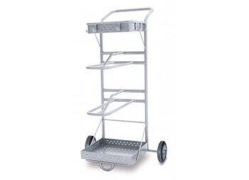 Sadelvagn för 2 sadlar