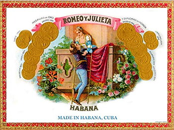 Romeo Y Julieta Maravillas  (The year of the Rat)1 st cigarr
