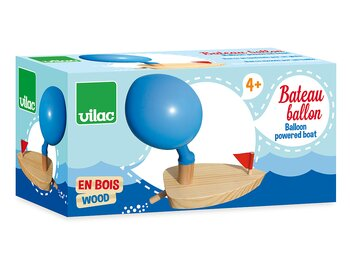 Boat baloon driven
