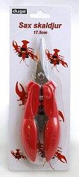 Sax skaldjur, 17, 5 cm