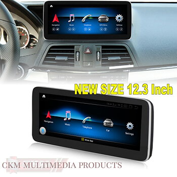 """1. w207 Comand 12.3"""" Android Widescreen touchscreen"""