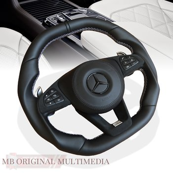 1. steering wheel sport mb original handmade 1pcs