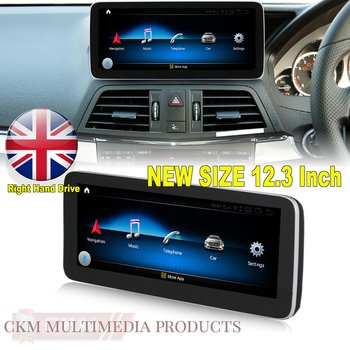 "1. w207 Comand 12.3"" Android Widescreen touchscreen RHD"