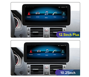 """1. w207 Comand 12.3"""" Android Widescreen touchscreen RHD"""