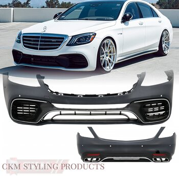 1. CKM S63 2018 faccelift AMG look kit