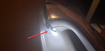 Light LED doorhandles 1pcs OEM part