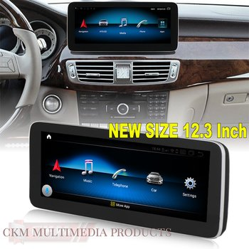 """1. W218 Comand 12.3"""" Android Widescreen touchscreen CLS"""