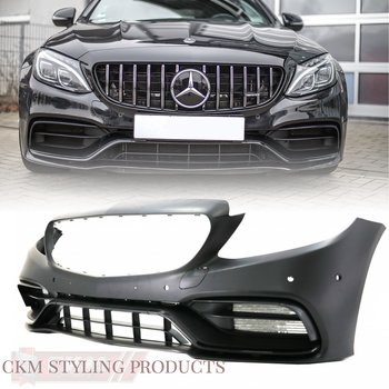 1. A-look C63s FACELIFT look front complete 1pcs