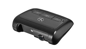 Front video kamera med inspelning