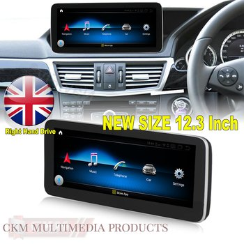 "1. w212 Comand 12.3"" Android Widescreen touchscreen W212 RIGHT HAND DRIVE"