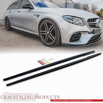 1. CKM Side extensions 2pcs E63 AMG 2017-