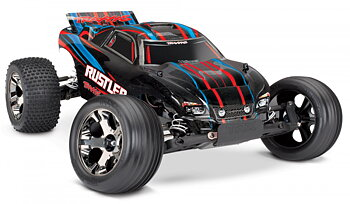 Rustler VXL 2WD 1/10 RTR TQi TSM w/o battery & charger- Red