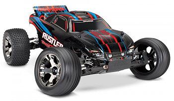 Rustler VXL 2WD 1/10 RTR TQi TSM utan batteri & laddare - Röd