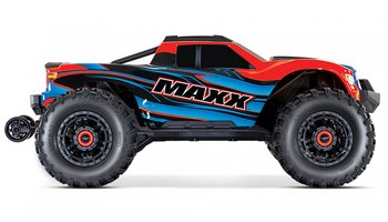 Maxx 4x4 1/10 RTR TQi Brushless TSM Red X