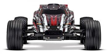 Rustler 2WD 1/10 RTR TQ Röd X - Med Batteri/Laddare