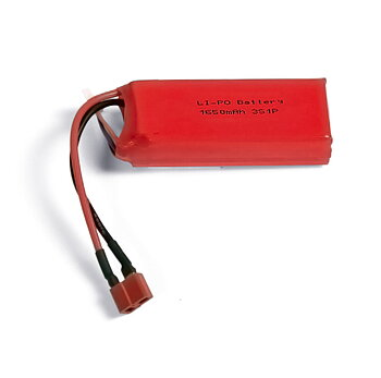 Li-Po Battery 3S 11.1V 1650mAh T-connector