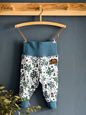 BABY LEGGINGS – BLUEBERRY PICKING
