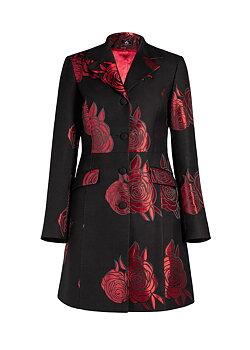Red roses Coat