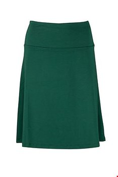 Skirt zilch dark green