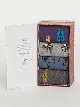 Giftbox bamboo socks size 41-45
