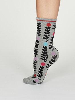 Keira bamboo socks grey