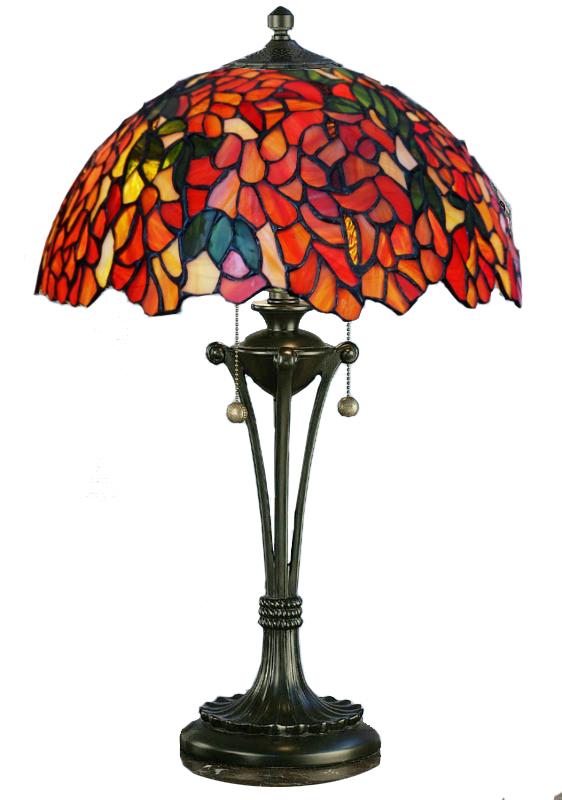 Tiffanylampor Bordslampa Rose