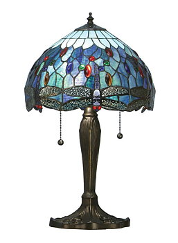Lampe de table Dragonfly Blue Ø 31cm