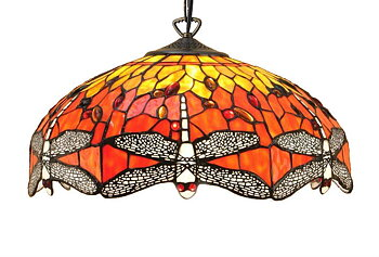 Loftlampe Dragon Fly Ø 41cm