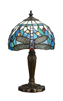Table lamp Dragonfly Blue Ø 20cm