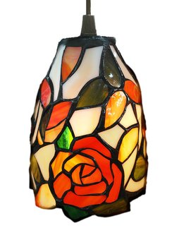 Window lamp Rose