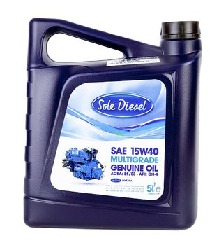 Solé Diesel Engine oil 15W40 5L