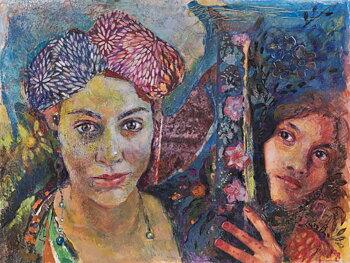 Maria Papafili - Erato and Elham (Tzigane, Asia)