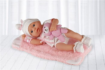 New Born Girl - Soft Doll