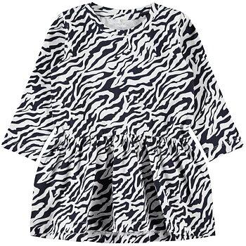 Defuka zebramönstrad klänning