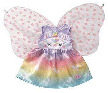 Baby Born - Unicorn Fairy Outfit 43cm