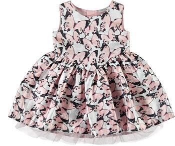 Faline klänning med fjärilar
