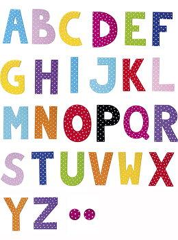 JaBaDaBaDo - Letters / Bokstäver från  A-Ö