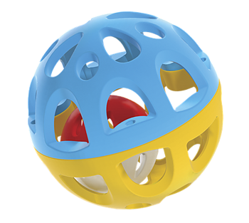 Happy Baby - Boll med Skallra