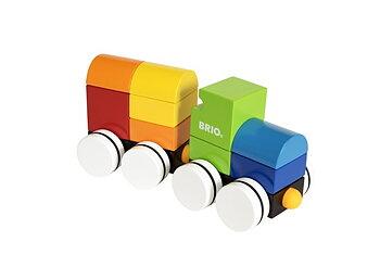 Brio - Magnettåg i Ljusa Färger