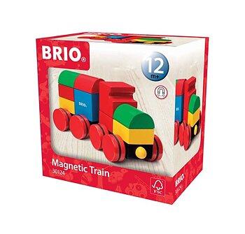 Magnettåg klassiska färger Brio