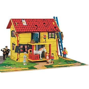 Pippis hus  Villekulla med lekplatta