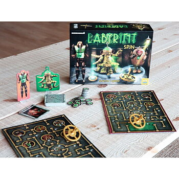 Labyrint Spin - Spel